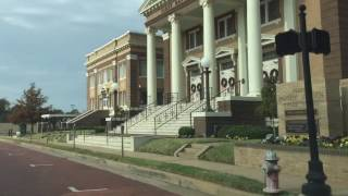 Driving in downtown Tyler TX - ghost town on Sundays