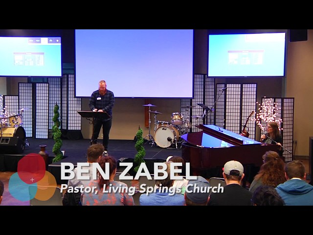 """Making Jesus Recognizable"" with Pastor Ben Zabel"