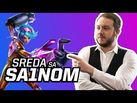 SREDA VECE SA SA1NOM / LIVE ZA SK ESPORTS / CHILL FLEX