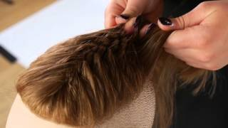 How To Braid An Undercut  - TheSalonGuy