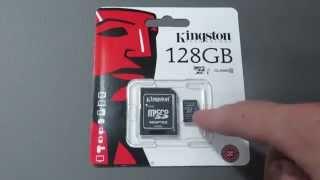 Обзор карты памяти Kingston MicroSD SDXC 10 класс UHS-I SDCX10/128GB