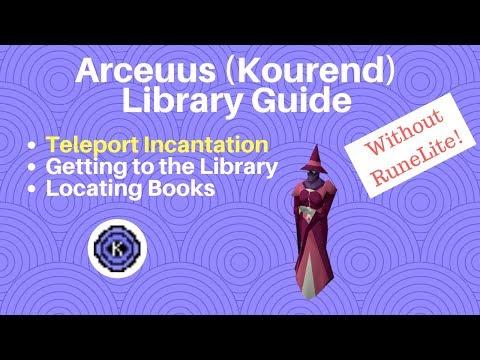 Find ANY Arceuus Book in 5 MINUTES! FASTEST Arceuus Favour