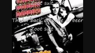 Zoot Suit Riot with lyrics By Cherry Popin' Daddies