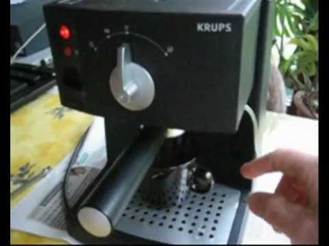 comment demonter machine a cafe krups