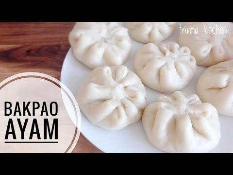 BAKPAO AYAM | Steamed Chicken Buns Recipe | TRIVINA KITCHEN