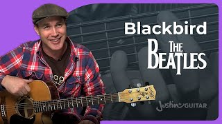 Blackbird - The Beatles - Acoustic Guitar Lesson (SB-113) Paul McCartney How To Play Guitar