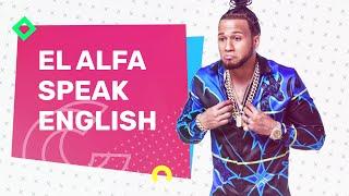 El Alfa Hablando Inglés Y Kanye West Disparates   Casos y Cosas Con Producción Rosario