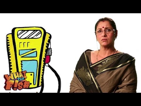 Monster Maasi On Petrol Prices | Dimple Kapadia | What The Fish 2013