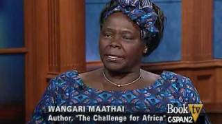 "BookTV: After Words: Wangari Maathai, Author Of ""The Challenge For Africa"" Interviewed By Nicole Lee"