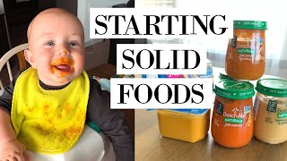 when to start solids for babies 2019 | starting baby on solids