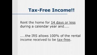 How to Generate Tax-Free Income From Your Home Each Year