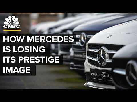 How Mercedes-Benz Is Losing Its Prestige Image