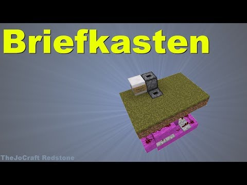 Redstone BRIEFKASTEN | Tutorial
