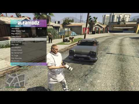 PS4 4 05 GTA 5 Mod Menu \