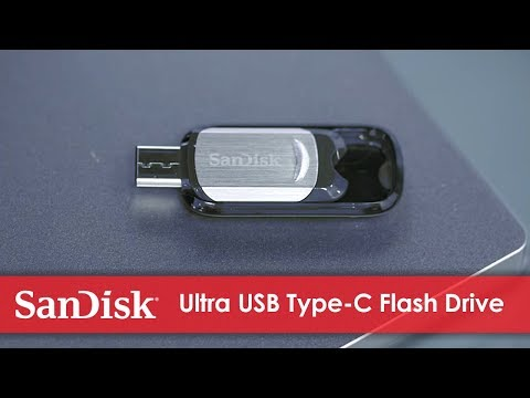 Demovideo eines SanDisk Ultra USB Type-C Flash-Laufwerks