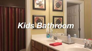 Kids Bathroom Tour / Organization /  Amis Lifestyle