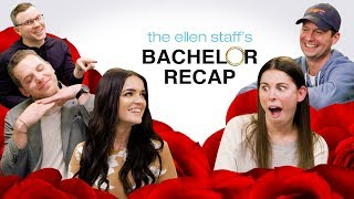 The Ellen Staff's 'Bachelor' Recap Special: Raven & Adam are Here! - dooclip.me