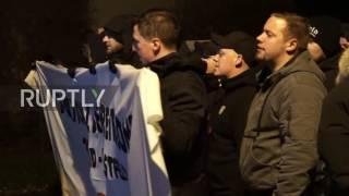 Germany: Far Right Protesters March Through Dorstfeld, Dortmund