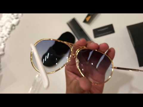 Unboxing Porsche Design P 8478 sunglasses