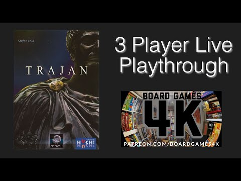 Trajan 3 Player Playthrough