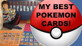 My Best Pokemon Card Collection Video! Megas, EX's & Favorites! Jenna Em Channel
