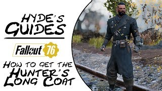 Fallout 76 - How to get the Hunter's Long Coat