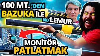 BAZUKA ile MONİTÖR PATLATMAK ! /w Mendebur Lemur