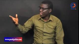 L'artiste Babacar Ly dit Dioss, soutien de Thierno Allasane Sall