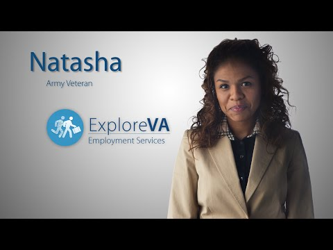 VA's vocational rehabilitation benefits helped Natasha advance on her career path.