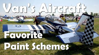 RV Aircraft Video - Paint Schemes for Van's RV Aircraft - Part 1
