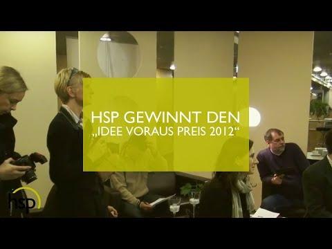 """hsp Software-Handels-Partner GmbH gewinnt den """"Idee voraus Preis 2012"""""""
