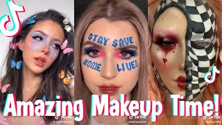 TIKTOK AMAZING MAKEUP COMPILATION