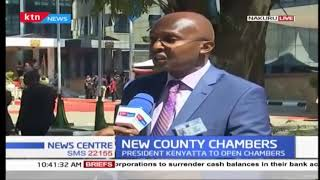 President Kenyatta set to open new county chambers in Nakuru