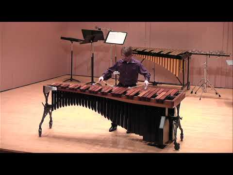 My recently recorded performance of a movement of Bach's Violin Sonata on Marimba