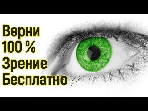 Упражнение коррекция зрения