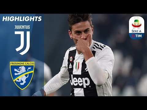 Juventus 3-0 Frosinone | Ronaldo and Dybala Help Juventus Beat Frosinone | Serie A (видео)