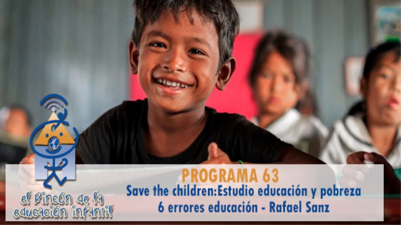 """Estudio educación y pobreza, errores """"típicos"""" y preguntas de los oyentes (p63)"""