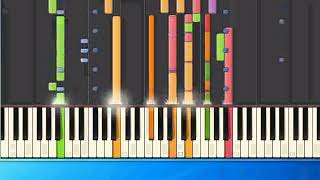 [Piano Tutorial Synthesia]Christian Wunderlich - Thats my Way to say goodbye (mh)