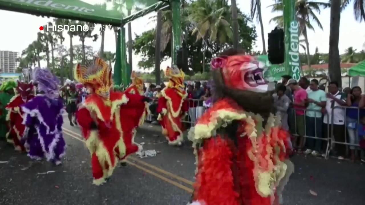 Con derroche de color y música cerraron el Carnaval dominicano