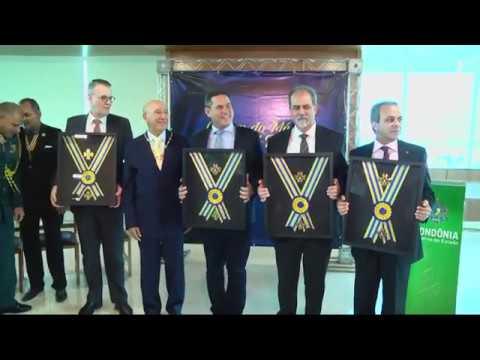 Instituições de Rondônia receberam a medalha do Mérito Marechal Rondon - Gente de Opinião