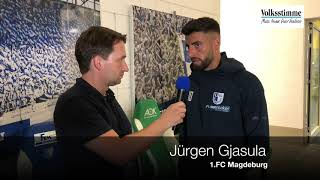 Jürgen Gjasula im Gespräch
