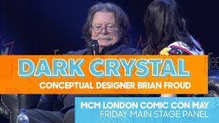 The Dark Crystals Conceptual Designer Brian Froud On Fantasy And Art Panel | MCM Comic Con