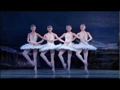 This video is the PBS filming of ABT's Swan Lake. This portion of the video is called little swans.