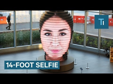Larger Than Life Selfie Sculpture