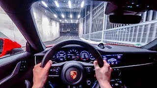 2019 Porsche 911 Carrera S (992 / 450PS) NIGHT POV DRIVE ONBOARD (60FPS)