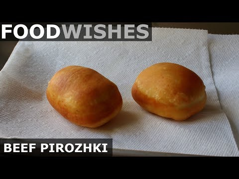 Beef Pirozhki – Food Wishes – Russian Meat Donuts