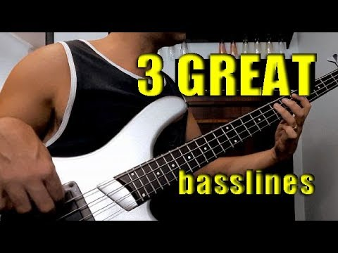 BASS GROOVES LESSON /// Beginner and Intermediate