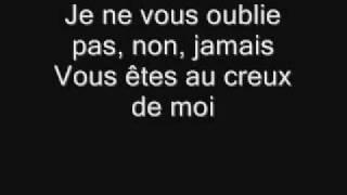 """Video thumbnail of """"Celine Dion - Je ne vous oublie pas.flv"""""""