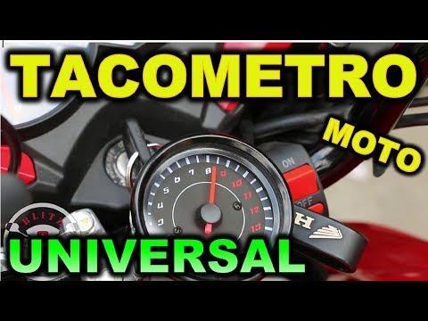 TACOMETRO UNIVERSAL PARA MOTOS