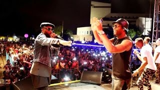 Fally ipupa premier concert Kiname avec Didier Drogba et Booba...